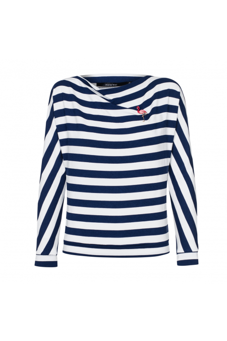 Sweter Loose Sailor Stripes